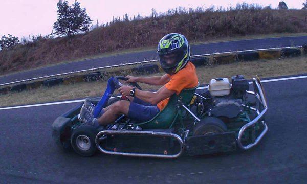 1° volta sui Go Kart